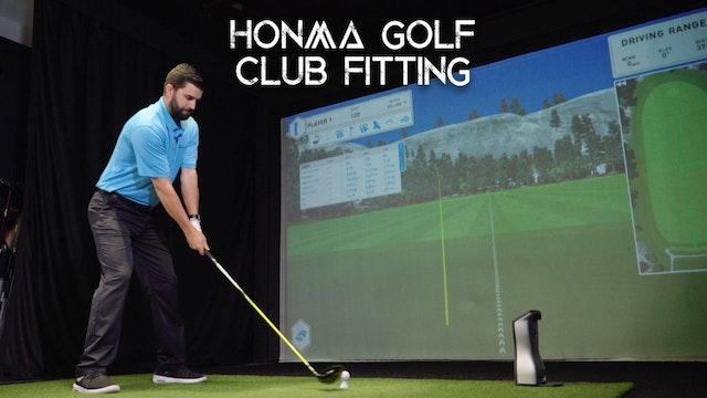 Honma Golf Fitting Gallery