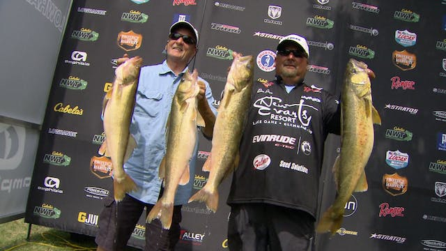 National Walleye Tour 2015:  Green Ba...