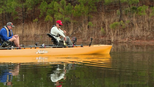 Hobie Outdoor Adventures Roadtrip:  Keeton and Morgan on Lake Caroline