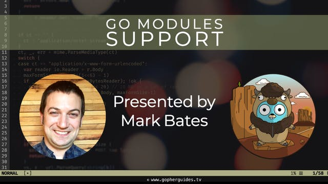 Buffalo - Go Modules Support