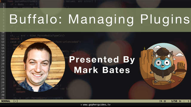 Buffalo: Managing Plugins