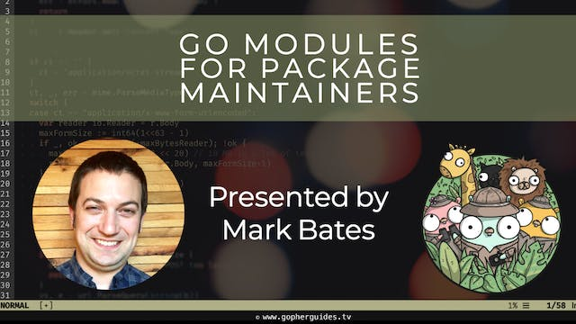 Go Modules for Package Maintainers