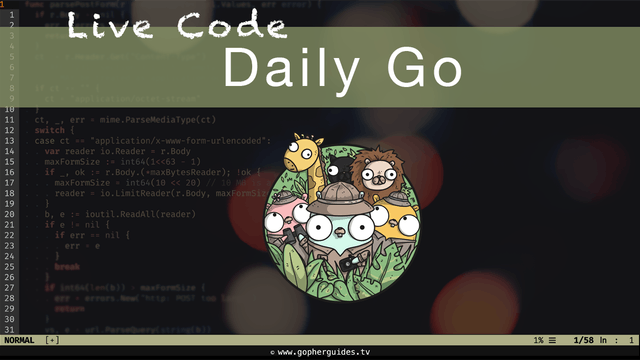 Daily Go - Live Coding