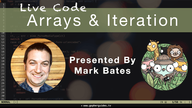 Live Code: Arrays & Iteration