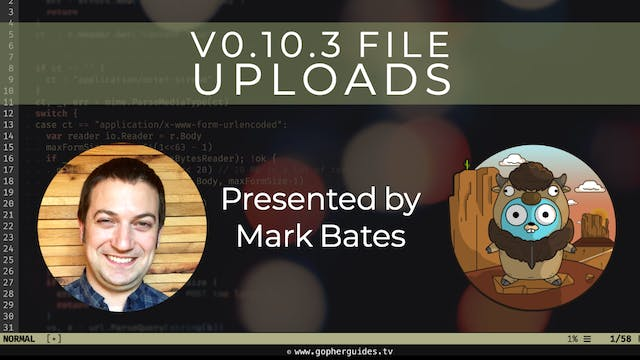 Buffalo v0.10.3 - File Uploads (Preview)