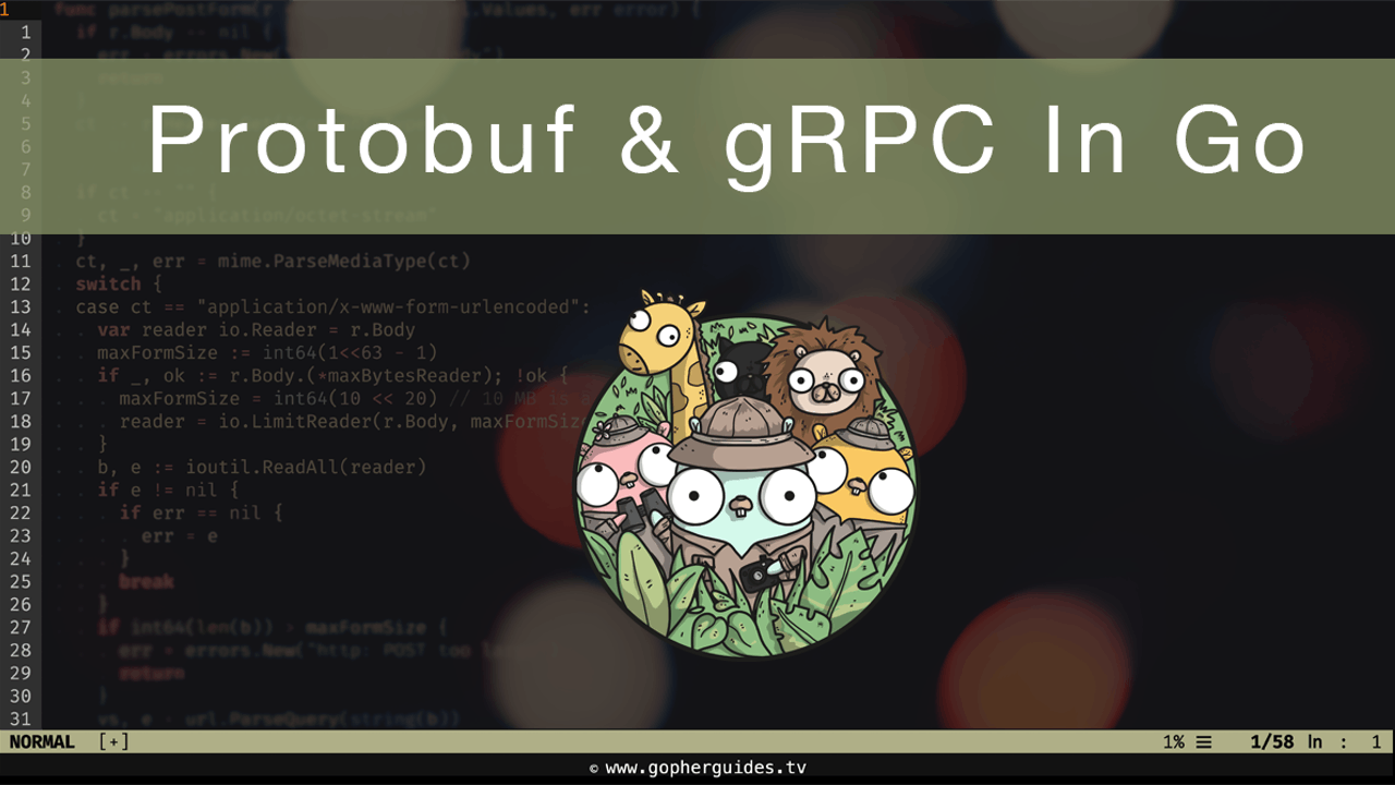 Protocol Buffers (protobuf) and gRPC in Go