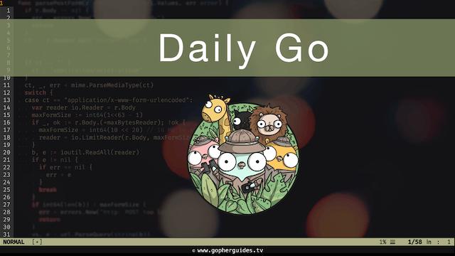 Daily Go