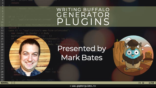 Writing Buffalo Generator Plugins