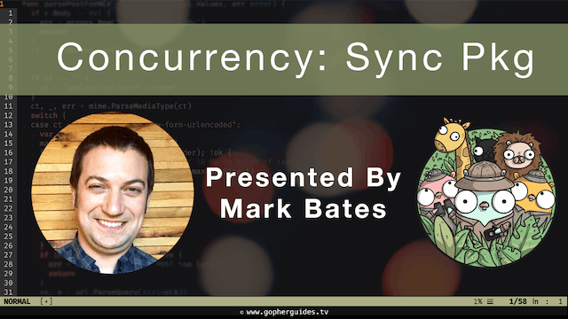 Concurrency: Sync Package