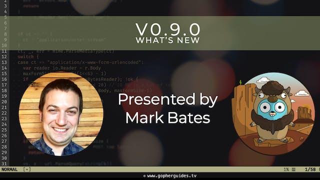 Buffalo v0.9.0 - What's New