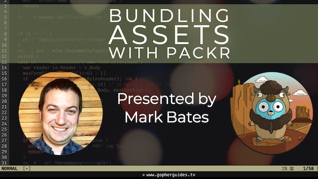Bundling Static Assets in Go with Packr