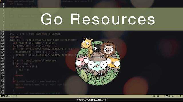 Go Resources