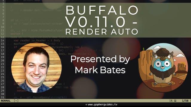Buffalo v0.11.0 - Render Auto