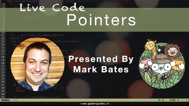 Live Code: Pointers
