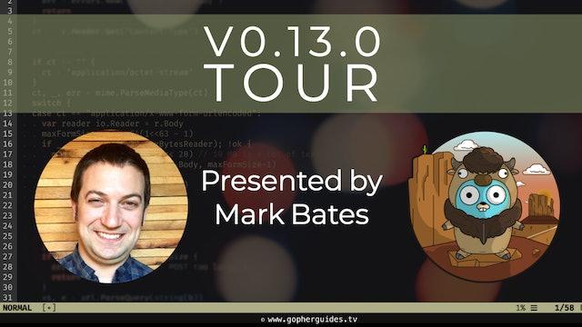 Buffalo - v0.13.0 Tour