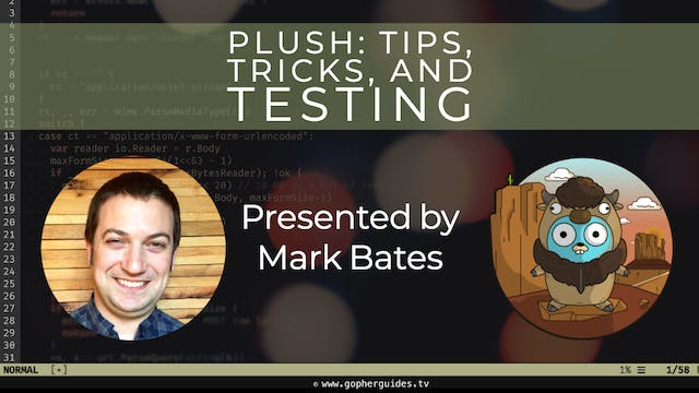 Plush: Tips, Tricks, and Testing