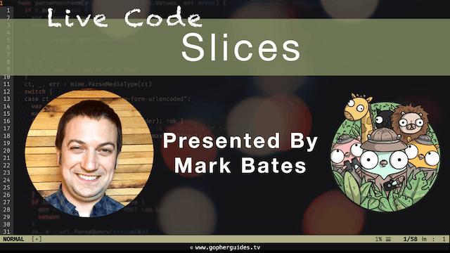 Live Code: Slices