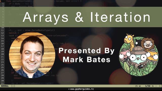 Arrays & Iteration