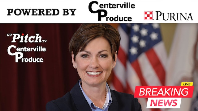 Governor Kim Reynolds Press Conference 4-20-20