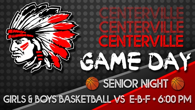 Centerville Boys Varsity Basketball vs Eddyville