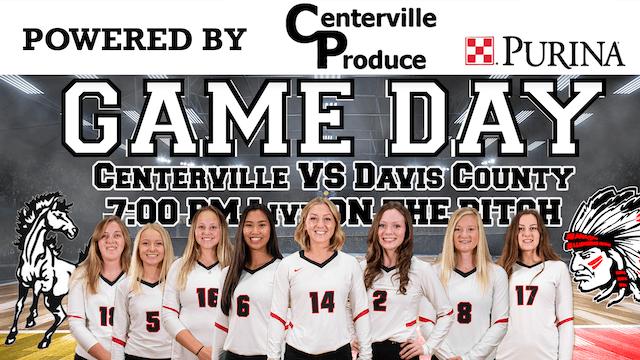Centerville Volleyball vs Davis County 10-8-19