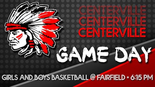 Centerville Girls Varsity Basketball vs Fairfield 1-4-21 - Part 2