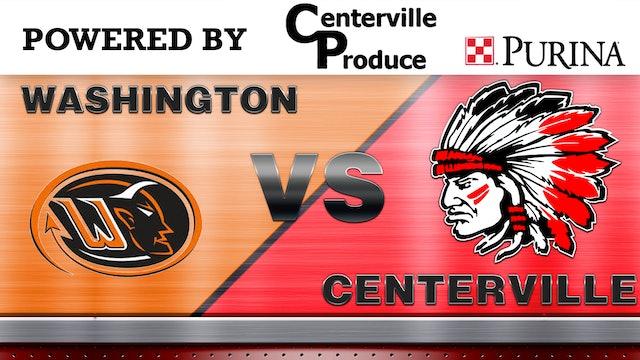 Centerville Boys JV 2 Basketball vs Washington 11-30-20