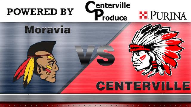 Centerville Varsity Boys Basketball vs Moravia 1-2-21