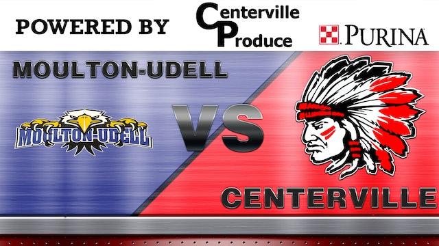Centerville vs. Moulton Boys Varsity Basketball 1-23-13