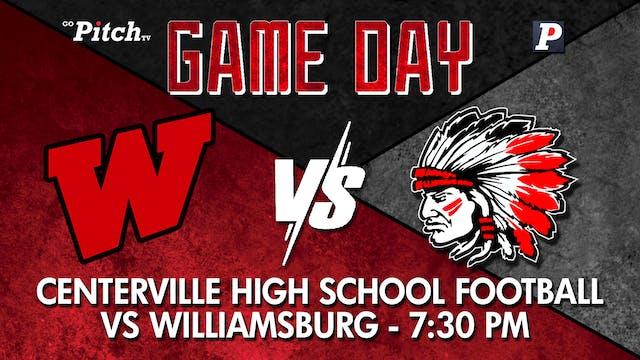 Centerville JV Football vs Williamsbu...