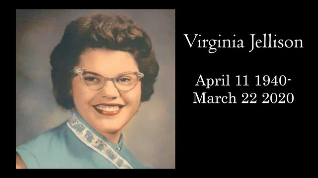 Funeral: Virginia Jellison April 11 1940-March 22 2020