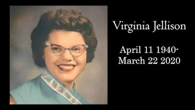 Funeral: Virginia Jellison April 11 1...