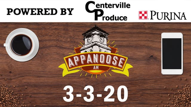 Appanoose AM 3-3-20