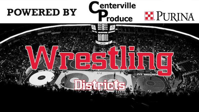 2020 Wrestling Districts at Knoxville 2-15-20