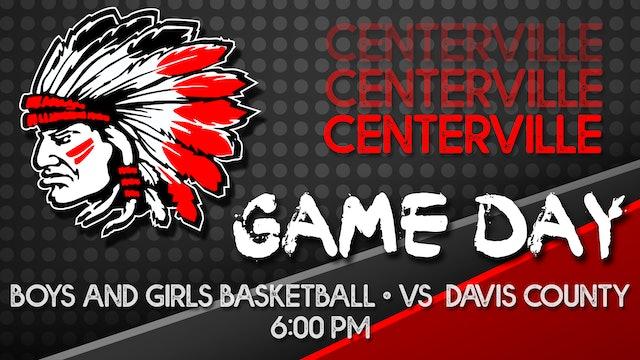 Boys Varsity Basketball at Davis County 12-4-20