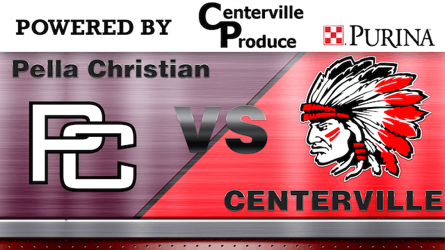 Centerville Baseball vs Pella Christian 2/2 Audio 7-10-18