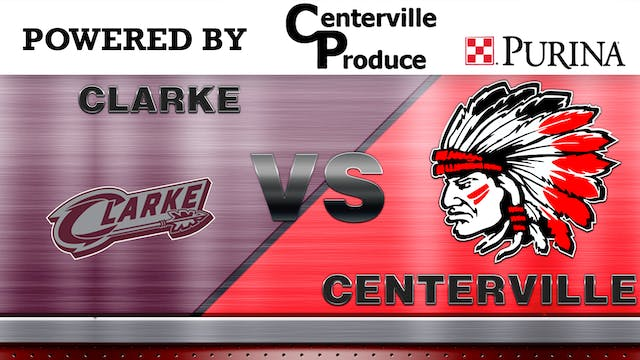 Centerville Boys Basketball vs Clarke...