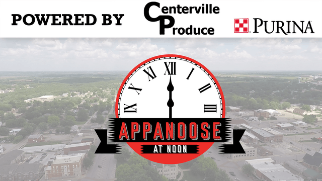 Appanoose At Noon 9-1-20