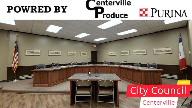Centerville City Council 8-2-21