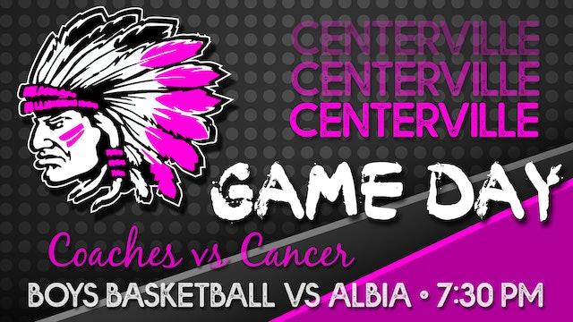 Centerville Boys JV1 Basketball vs Albia 2-11-21