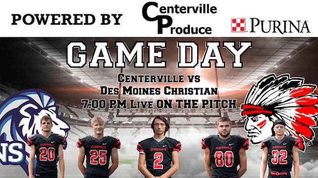Centerville Football vs Des Moines Christian 9-30-19