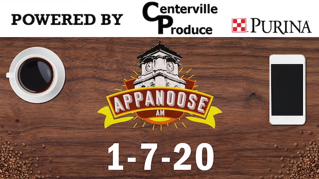 Appanoose AM 1-7-20