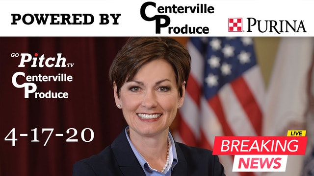 Governor Kim Reynolds Press Conference 4-17-20