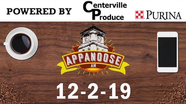 Appanoose AM 12-2-19
