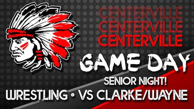 Centerville Wrestling vs Clarke and W...