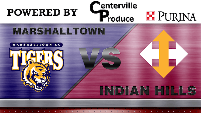 Indian HIlls vs Marshall Town - ICCAC Region XI Game 2 5-10-19