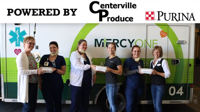 Gary Sinese Lunch Donation to Mercy O...