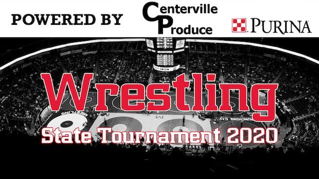 2020 State Wrestling Day 2 Round 2 Hi...