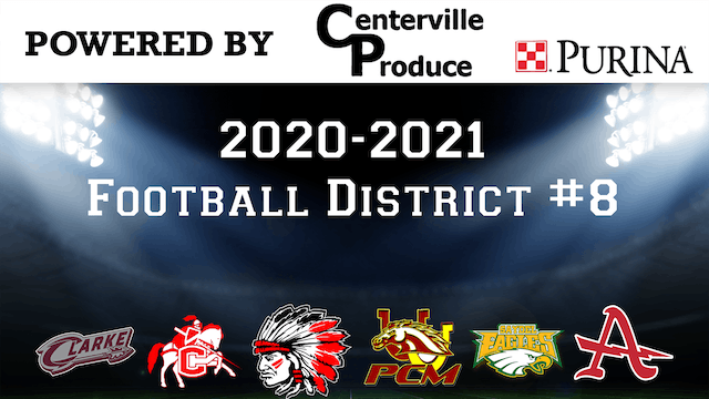 Football Districts Announcement District 8 2-6-20