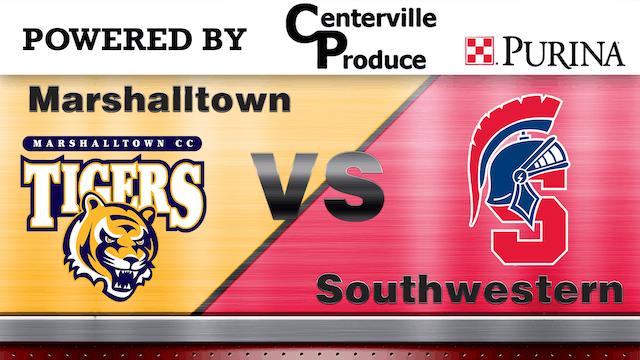 SouthWestern vs Marshall Town - ICCAC...